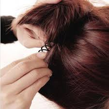 barrette hair 10pcs spiral spin barrette hair clip twist barrette black