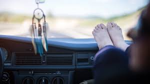car dashboard warning don u0027t put your feet on the car dashboard atlanta news