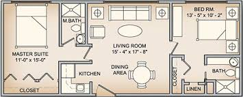 2 bedroom floorplans manor apartments 2 bedroom floorplans rockwood retirement communities