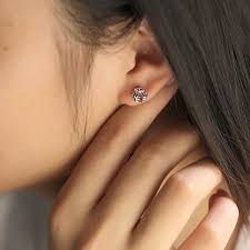 most hypoallergenic earrings most popular 925 sterling silver hypoallergenic stud earrings for