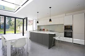 amazing galley kitchen lighting 3 white and wood kitchen ideas