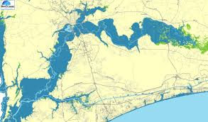 Flood Map Horry County Releases Map Of Potential Flooding Along Waccamaw