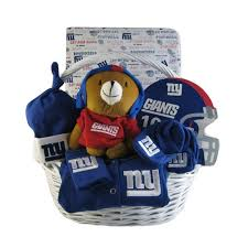 nyc gift baskets new york giants baby gift basket touchdown