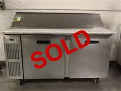 Refrigerated Prep Table by Used Randell 9040k 7m 2 Door Refrigerated Prep Table