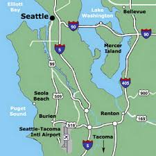 Seattle Map Airport by Sea Airport Map Sea Terminal Map