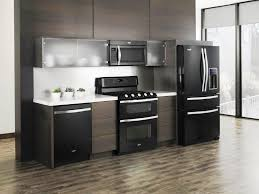 gray modern kitchen grey kitchen cabinets with black appliances outofhome
