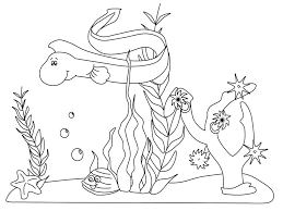free sea coloring pages print kids