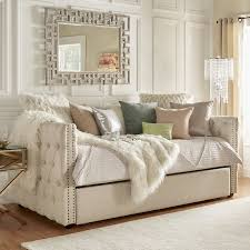 daybed sofa with trundle bed porter m2m divan into a custom sized