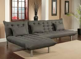 abbyson living bedford gray linen convertible sleeper sectional