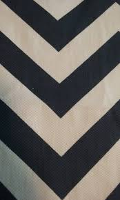 home decor fabric navy blue and white chevron fabric remnant