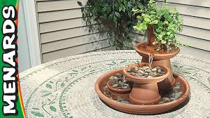 terra cotta fountain how to build menards youtube