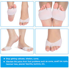 Foot Pain Map Yosoo Ball Of Foot Cushion Gel Bunion Pads Forefoot Insoles For
