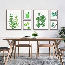home decor plants 2017 modern plants painting oil picture printed on canvas mural