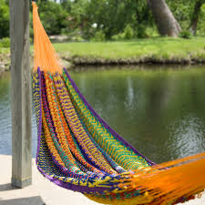 island bay xl thick double hammock with free hanging hardware