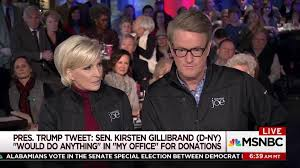 where does trump live mika brzezinski tears into president trump over sen gillibrand tweet