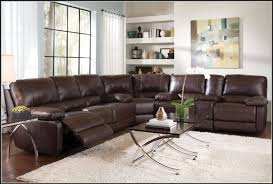small leather sectional sofa with recliner sofa home furniture