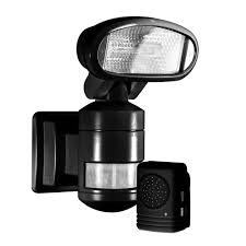outdoor security motion lights nightwatcher security 220 degree outdoor black motorized motion