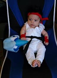 3 month old halloween costumes jonah u0027s first halloween 3 month old handmade street fighter ryu