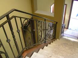 interior stair railing metal modern interior stair railing kits