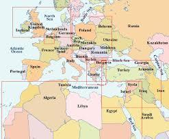 middle east map kazakhstan world war