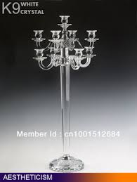 Crystal Wedding Centerpieces Wholesale by Cheap Crystal Wedding Candelabras Find Crystal Wedding