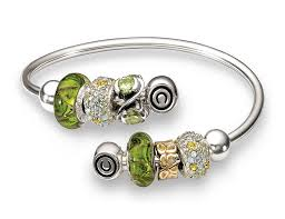 bangle bracelet beads images Chamilia flex bangle review charms addict png