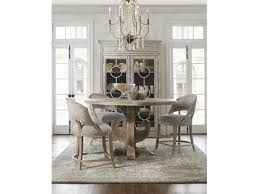 hooker furniture dining room boheme ascension 60in wood round