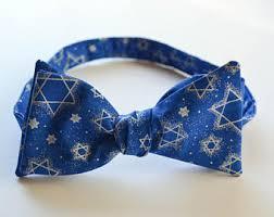 hanukkah tie bow tie etsy