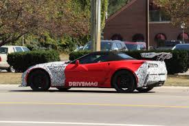 Corvette Zr1 Interior First Interior Spy Shots Show 2018 Chevrolet Corvette Zr1 Eats