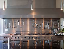 stainless steel armed with kitchen transitional and contemporary
