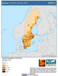 Map Sweden Map Gallery Sedac