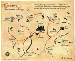 treasure map marketing treasure map design