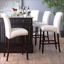Modern Counter Height Chairs Kitchen Counter Chairs Gdfstudio Rex Bar Stools Set Of 2 Brown