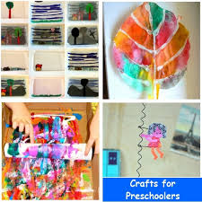 and craft for 4 years preschool crafts
