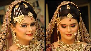 traditional bridal hairstyle traditional bride in india other dresses dressesss