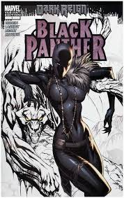 rare comics black panther 1 partial sketch variant