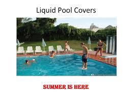liquid pool covers