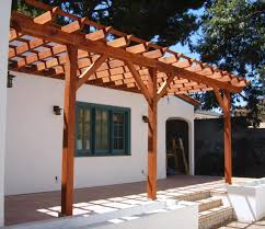 Wood Pergola Plans by Pergola Attached To House Pergola Board Pinterest Pergolas