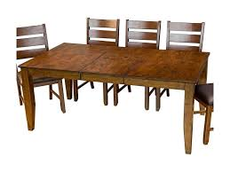 Butterfly Leaf Dining Room Table by Aamerica Mason Rectangular Butterfly Leaf Dining Table Johnny