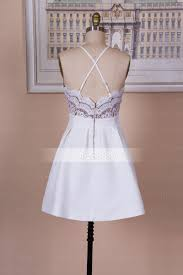 cute white lace short prom dress cute homecoming dress dresstby