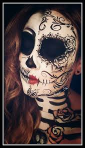 Sugar Skull Halloween Costumes 20 Awesome Diy Halloween Costumes Women Face Paint Makeup