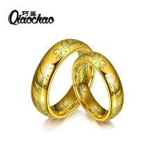 the one ring wedding band aliexpress buy size6 10 one ring of power the lord of rings