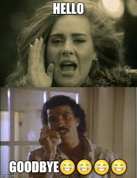 Adele Meme - adele and lionel imgflip