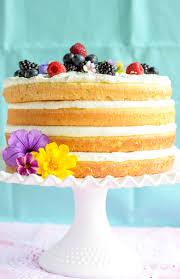 ricotta lemon burst sponge cake decadence baking co