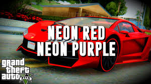 gta 5 online bright purple and neon red gta v crew colors