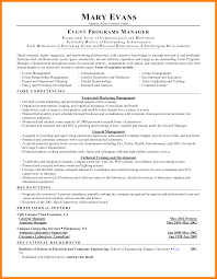 Event Manager Resume Examples by 7 Event Manager Resume Addressing Letter