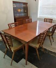 mid century modern dining table set mid century dining set ebay