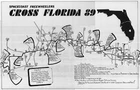 Homosassa Florida Map by Cycling Routes Crossing Florida