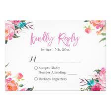 Response Cards Wedding Response Cards Invitations Greeting U0026 Photo Cards Zazzle