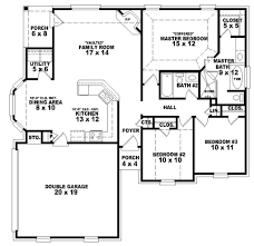 Dual Master House Plans 1000 Square Foot 3 Bedroom House Plans Vdomisad Info Vdomisad Info